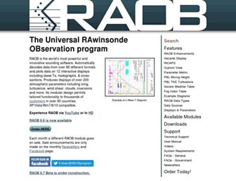 raob.com screenshot