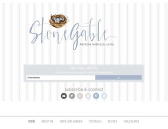 stonegableblog.com screenshot