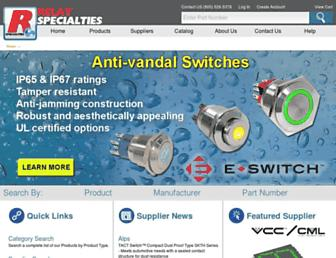 relayspec.com screenshot