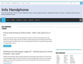 infohandphone.com screenshot