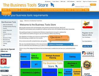 businesstoolsstore.com screenshot