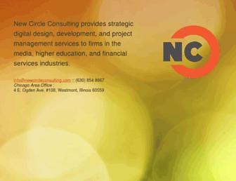 Thumbshot of Newcircleconsulting.com