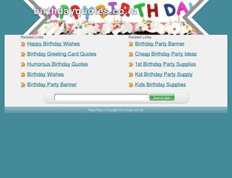 Thumbshot of Birthdayquotes.co.in