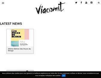 Main page screenshot of viacomit.net