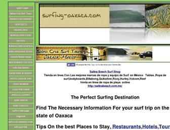 surfing-oaxaca.com screenshot