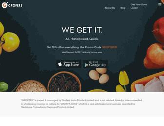Thumbshot of Grofers.com