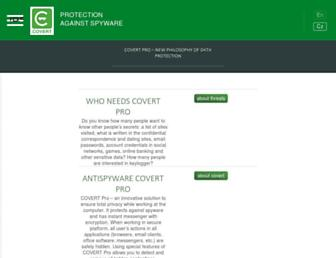 covert-pro.com screenshot