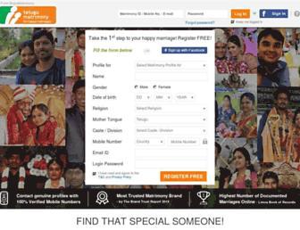 Thumbshot of Telugumatrimony.com
