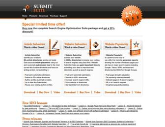Thumbshot of Submitsuite.com