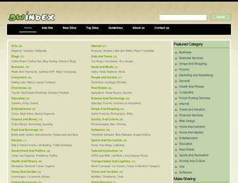Main page screenshot of 3windex.net