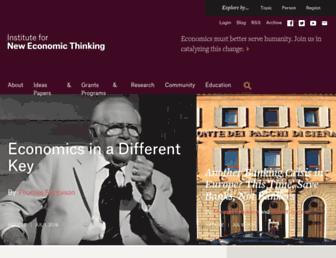 Thumbshot of Ineteconomics.org