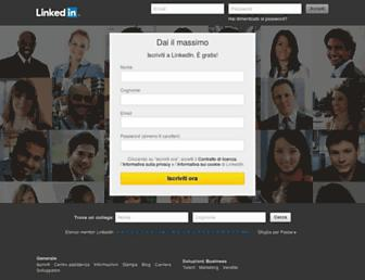 it.linkedin.com screenshot