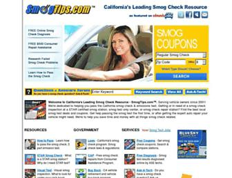 smogtips.com screenshot