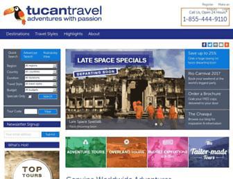 Thumbshot of Tucantravel.com
