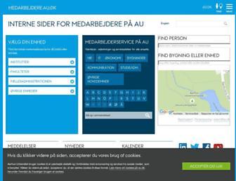 medarbejdere.au.dk screenshot