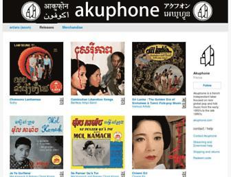 akuphone.bandcamp.com screenshot