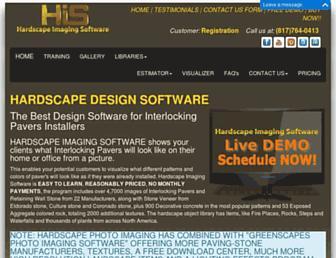 hardscapedesignsoftware.com screenshot