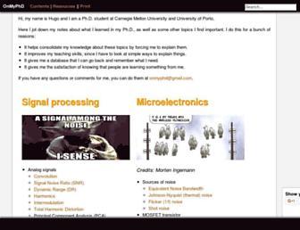 onmyphd.com screenshot