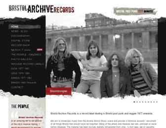 bristolarchiverecords.com screenshot