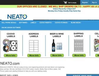 neato.com screenshot
