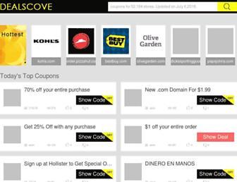 dealscove.com screenshot