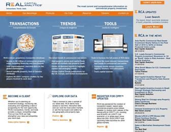 rcanalytics.com screenshot