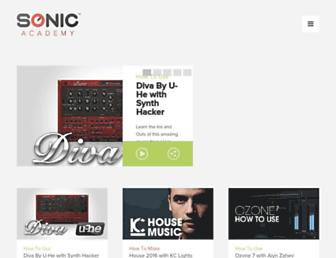 Thumbshot of Sonicacademy.com