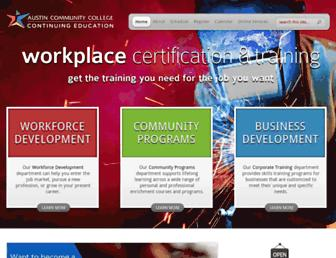 continue.austincc.edu screenshot