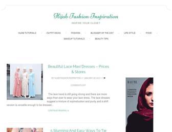 hijabfashioninspiration.com screenshot