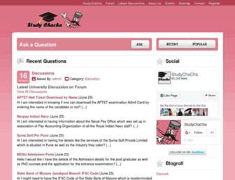 studychacha.com screenshot