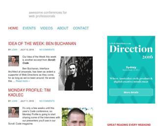 Thumbshot of Webdirections.org