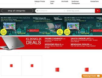kliknklik.com screenshot
