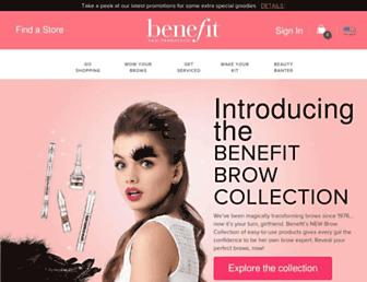 Thumbshot of Benefitcosmetics.com