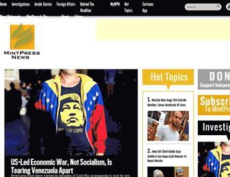Thumbshot of Mintpressnews.com
