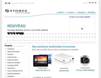 support.storex.fr screenshot