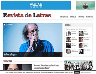 Thumbshot of Revistadeletras.net