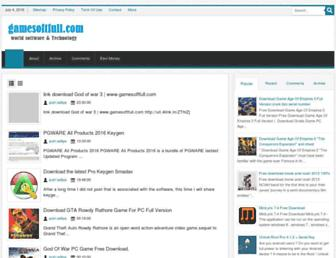 gamesoftfull.blogspot.com screenshot