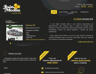 joinmedia.com.br screenshot