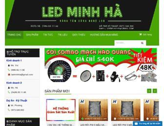 ledminhha.vn screenshot