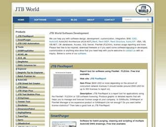 jtbworld.com screenshot