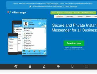 omessenger.com screenshot