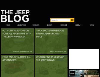 blog.jeep.com screenshot