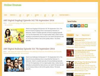 onlinedramas4.blogspot.com screenshot