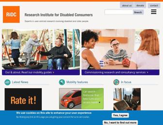 ridc.org.uk screenshot