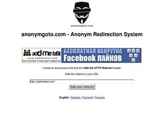 Thumbshot of Anonymgoto.com