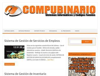 compubinario.com screenshot