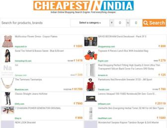 Thumbshot of Cheapestinindia.com