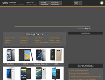 forum.xda-developers.com screenshot