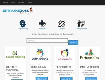 entrancezone.com screenshot