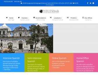 Thumbshot of Nicaraguaspanishschools.org